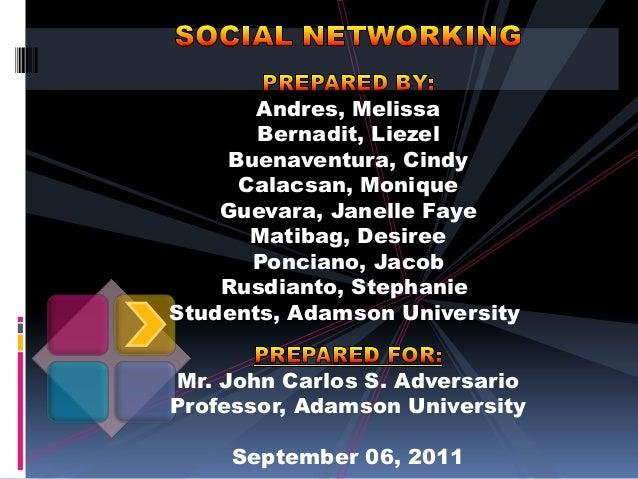 Andres, Melissa Bernadit, Liezel Buenaventura, Cindy Calacsan, Monique Guevara, Janelle Faye Matibag, Desiree Ponciano, Ja...
