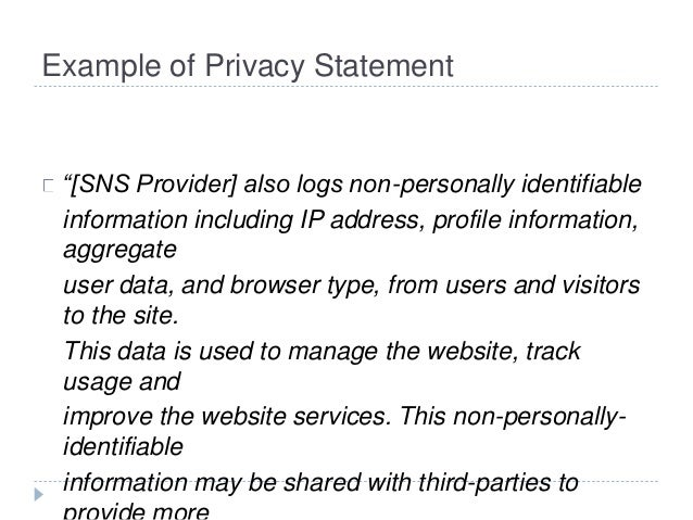 Social Networking Security Issues