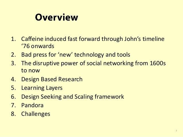 Social network innovation in the internet's global coffeehouses Slide 2