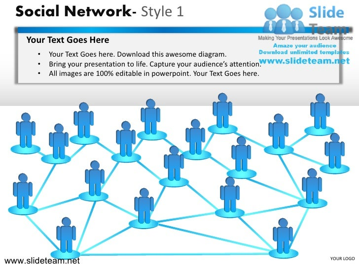 social networking sites free templates download - social network of people connections six degrees of