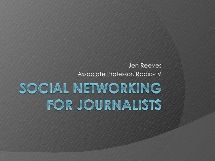 Jen Reeves Associate Professor, Radio-TV