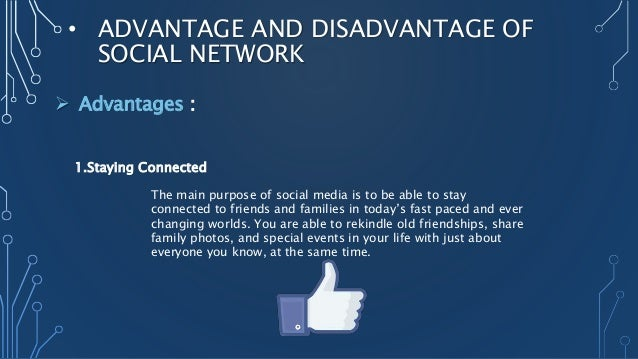 social networking have destroyed communication between friend and family Social networking web pages also differ from previous internet communication tools (such as instant messaging and e-mail) in that they support communication with many friends and encourage users to recognize connections between individuals.
