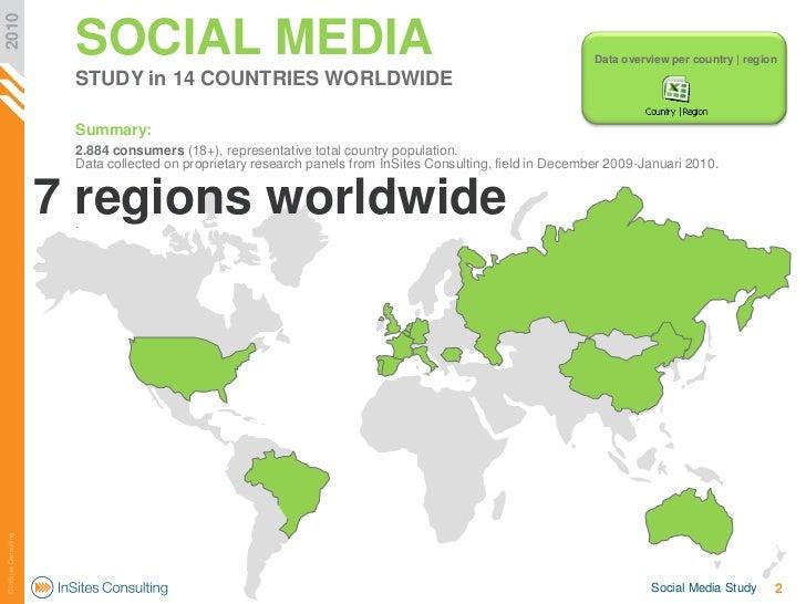 Social networks around the world 2010 Slide 2