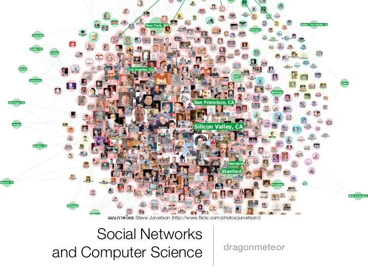 แผนภาพโดย Steve Jurvetson (http://www.flickr.com/photos/jurvetson/)      Social Networks                                  ...