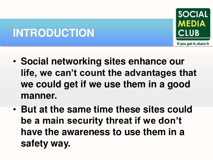 security threats in social networking sites information technology essay Cloud security alliance counts down the nine top threats to cloud.