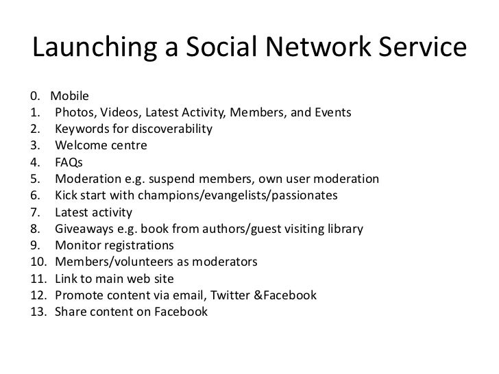 List of social networking websites