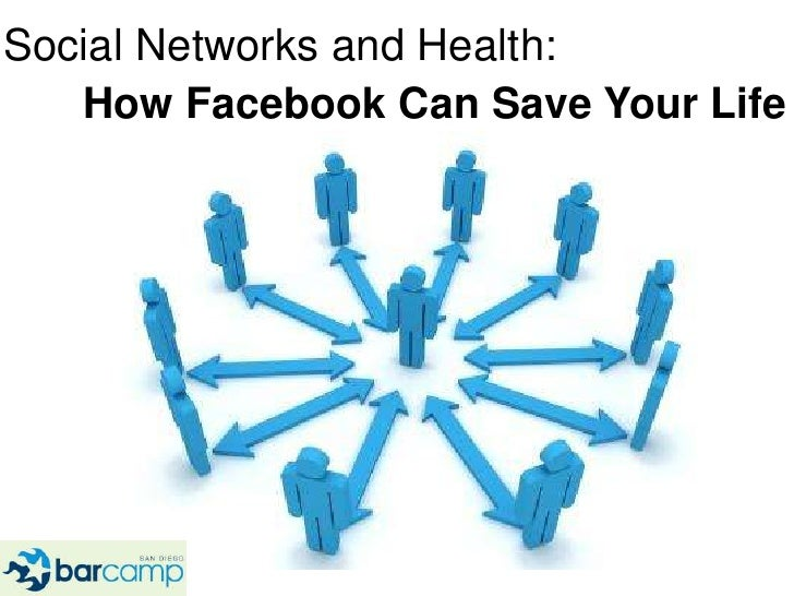 Social Networks and Health:<br />How Facebook Can Save Your Life<br />