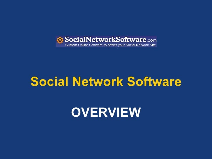 Socialnetworksoftware