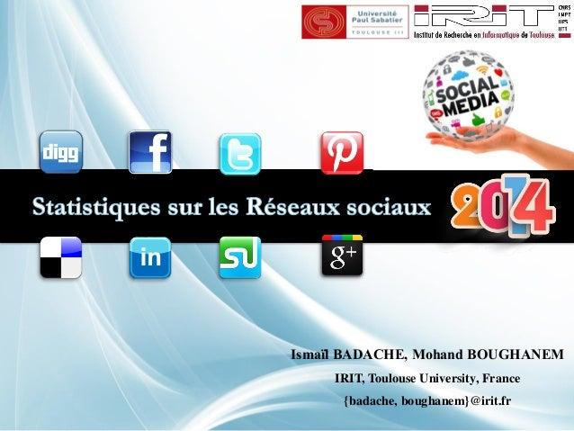 Ismaïl BADACHE, Mohand BOUGHANEM  IRIT, Toulouse University, France  {badache, boughanem}@irit.fr