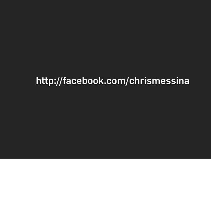 http://facebook.com/chrismessina