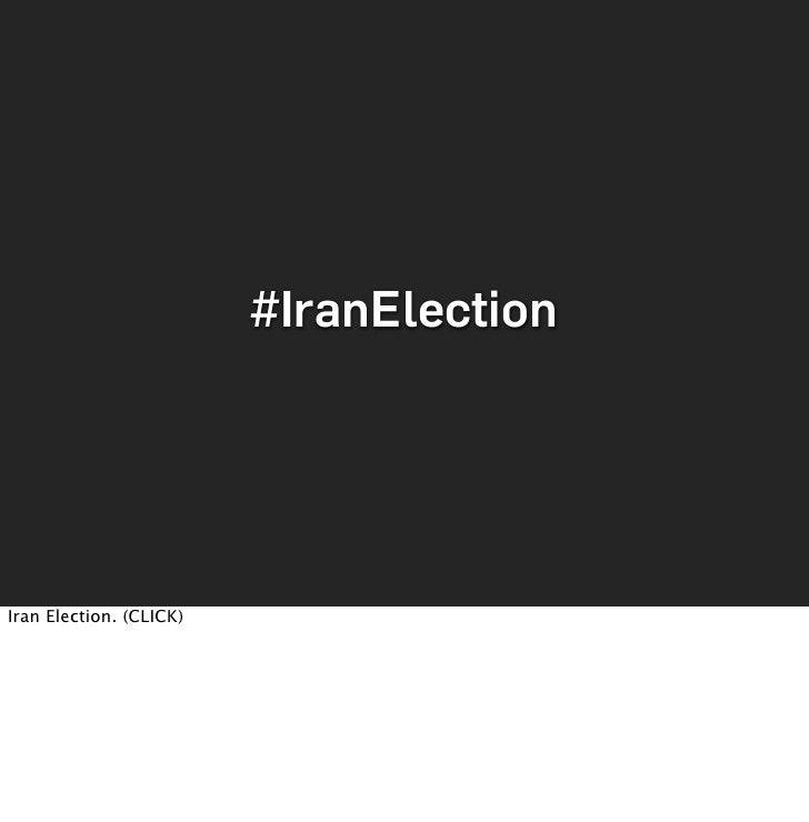 #IranElection     Iran Election. (CLICK)