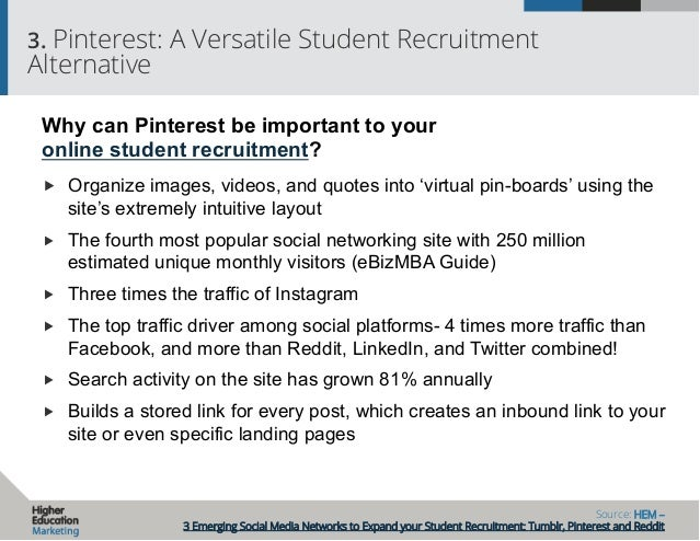 Expand your Student Recruitment With These Social Media Networks