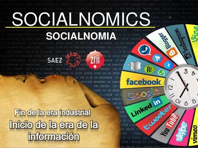 SOCIALNOMICS SOCIALNOMIA