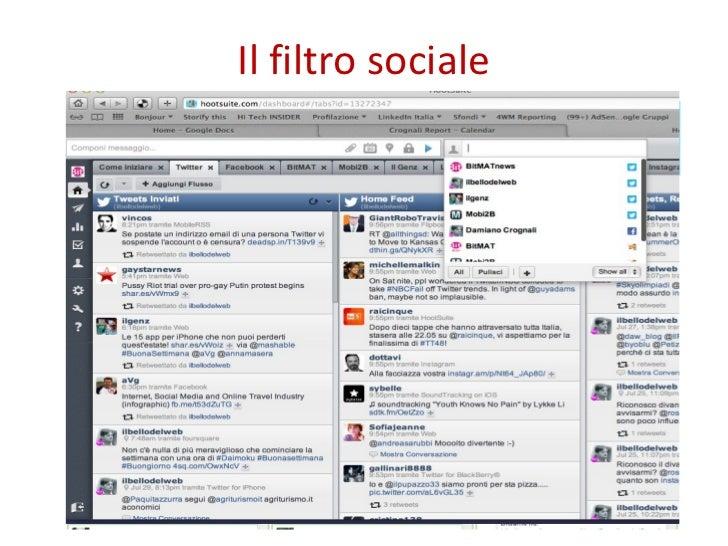 Il filtro sociale
