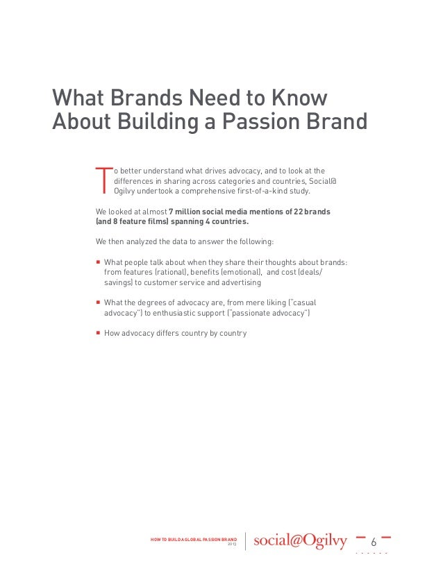 a study of brand building activities Brand equity is that incremental value that accrues to a product when it is  branded  brand-building activities over the years, so at the end of the day we   because the study is the first to develop a detailed model of how the.