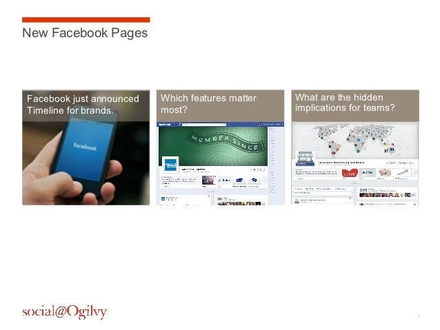 Facebook Timeline for Brands   Changes & Hidden Implications Slide 2