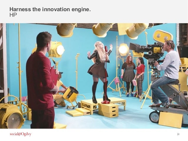 31 Harness the innovation engine. HP