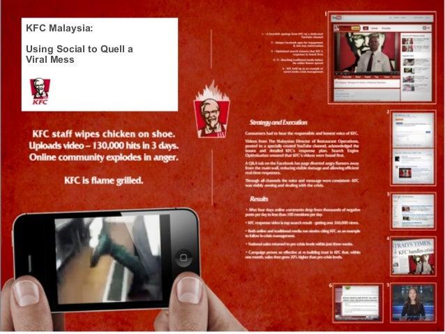 KFC Malaysia:Using Social to Quell aViral Mess