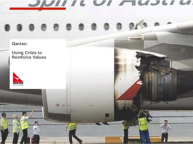 Experience in socialmedia will help yourespond fast … andappropriatelyQantas:Using Crisis toReinforce Values