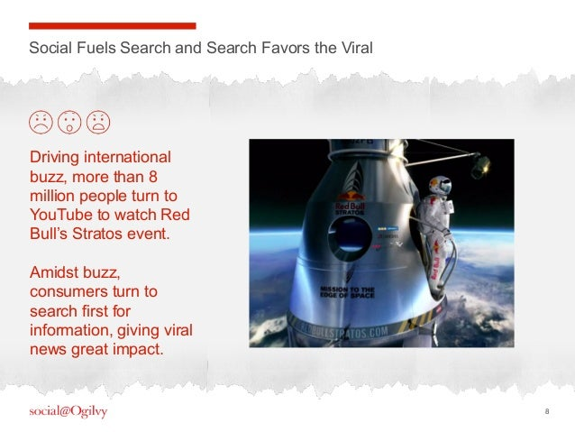 8Social Fuels Search and Search Favors the ViralDriving internationalbuzz, more than 8million people turn toYouTube to wat...