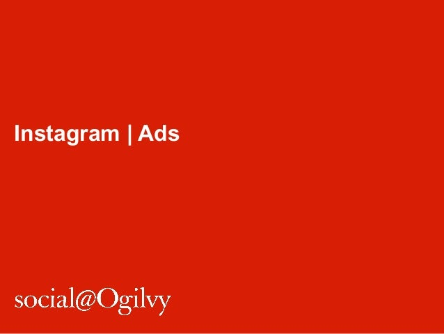 Instagram | Ads