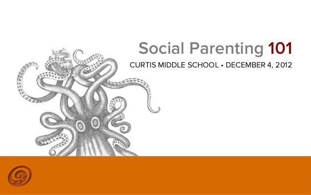 Social Parenting 101CURTIS MIDDLE SCHOOL • DECEMBER 4, 2012                      ©2012 @MIKETRAP, LLC. ALL RIGHTS RESERVED...