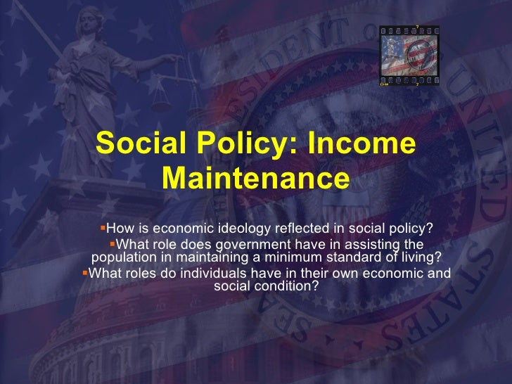 How political ideology influences social policy Essay