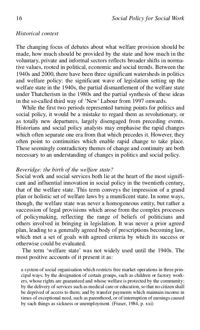 social policy for social work changing perspectives on social policy and social work 15 29