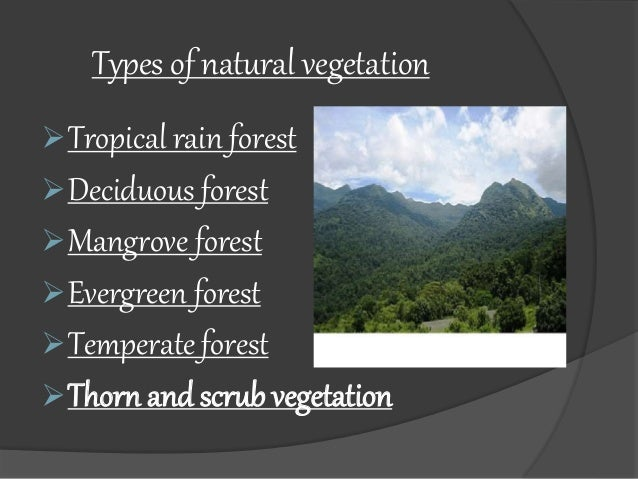 Different Types Of Natural Resources Ppt