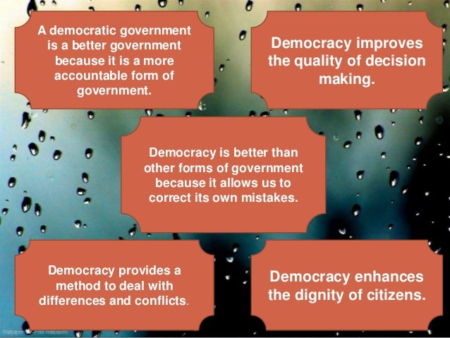 an argument in favor of republic than democracy as a form of government The distinction between our republic and a democracy is not an idle one it has great legal significance the constitution guarantees to every state a republican form of government (art 4, sec 4) no state may join the united sta.
