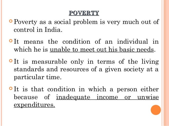 Poverty in Childhood