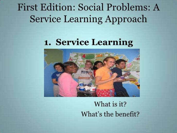 Learning english through social issue