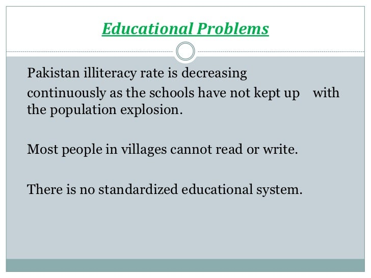 Problems of society essay