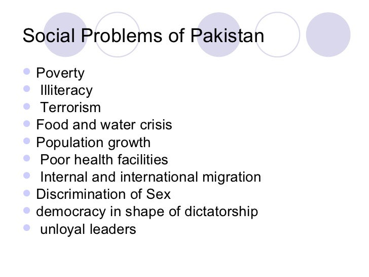 community health problems in pakistan essay - Social Issue Essay Example