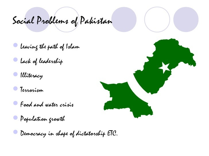 social issues in pakistan