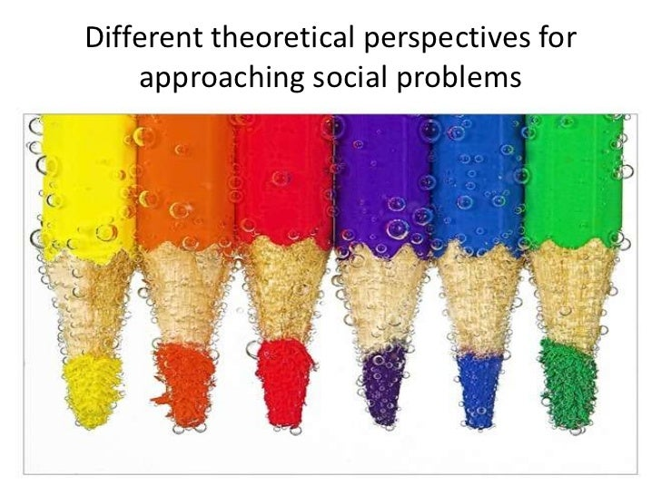 functionalist perspective on social problems Chapter 1: sociological perspectives on social problems 1 a social problem exists when most people in a society _____ a learn about the problem from the mass media.