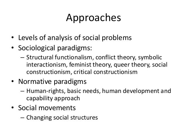 social problem and its theories What are social theories of aging theories about how we incorporate older people in society  like income inequality- but its social structure problem.