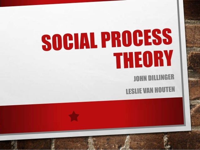 SOCIAL PROCESS THEORY •  THE SOCIAL PROCESS THEORY VIEWS CRIMINALITY AS A FUNCTION OF PEOPLE'S INTERACTIONS WITH VARIOUS O...