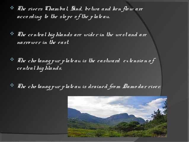  The western ghats are higher than the eastern ghats.  Their average elevation is 900 to 1600m as against 600m of the ea...