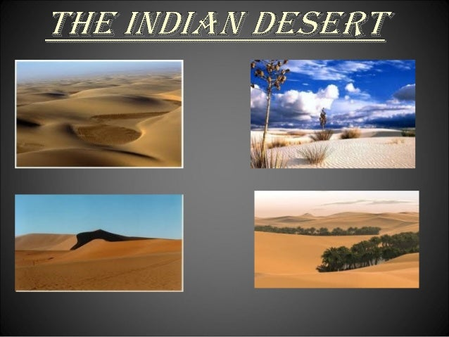 The physical features of india
