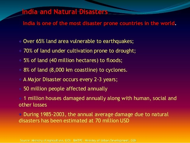 Essay on natural hazards