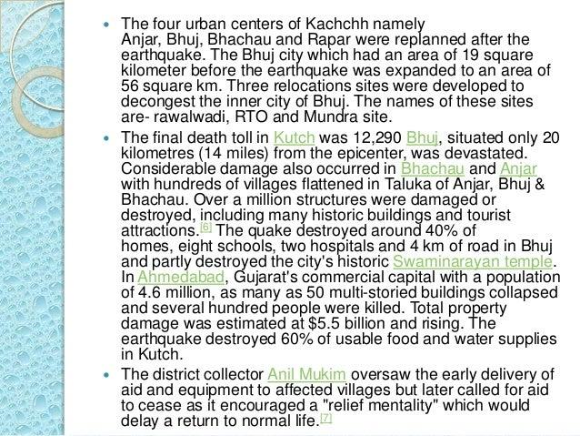 kutch earthquake 2001 pdf free