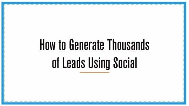 How To Generate 1000's Of Leads Using Social Media - Bree Nakatani - Stukent Expert Session
