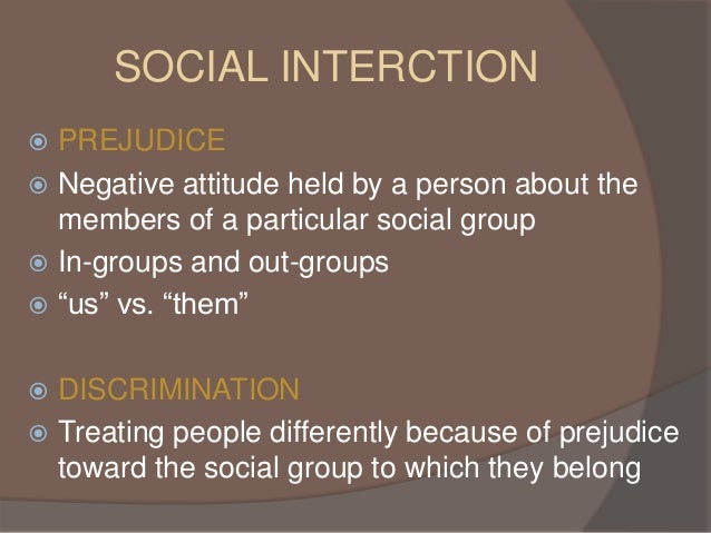 an analysis of realistic group conflict and prejudice Group similarity as a predictor of prejudice  ginal realistic group conflict theory  has been expanded  prejudice items and were dropped from the analyses.