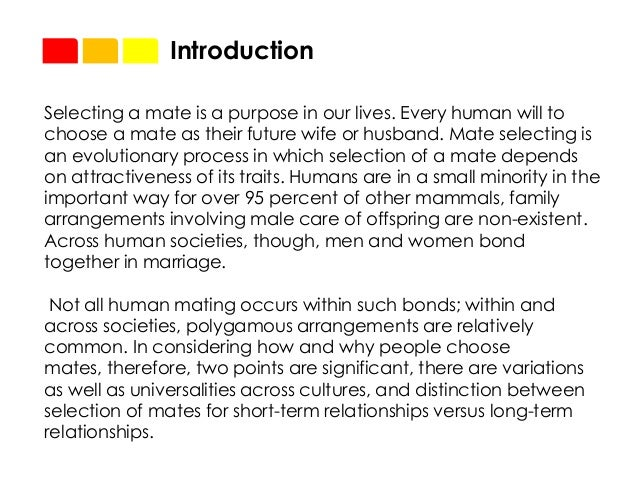 social psychology mate selection A sample of research exploring: mind-body practices and self-enhancement  early gender differences in core values and career orientation and gender.