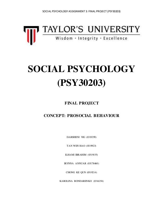 applied psychology final assignment For more classes visit wwwabs200aidcom applied psychology – from theory to practice due by day 7 the final assignment for this course is a final paper the purpose of the final paper is for you to culminate the learning achieved in the course by applying concepts to a specific case study.
