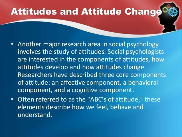 Cognitive and Affective Psychology
