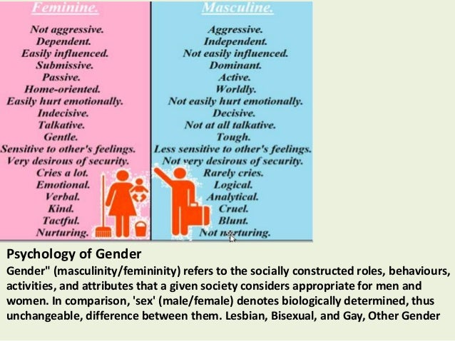 social psychology and homosexuality Social relations social psychology teaches us how we relate to one another through prejudice, aggression, and conflict to attraction, and altruism and peacemaking 45  interracial marriage, gender, homosexuality, and minorities have decreased 48 racial & gender prejudice.