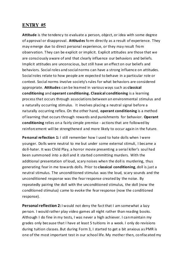 Psychology Homework Answers