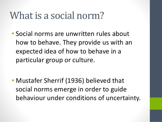 cultural norms in us Each culture has its own set of rules and norms that make it unique, and some   latin american cultures and the romance cultures share the.
